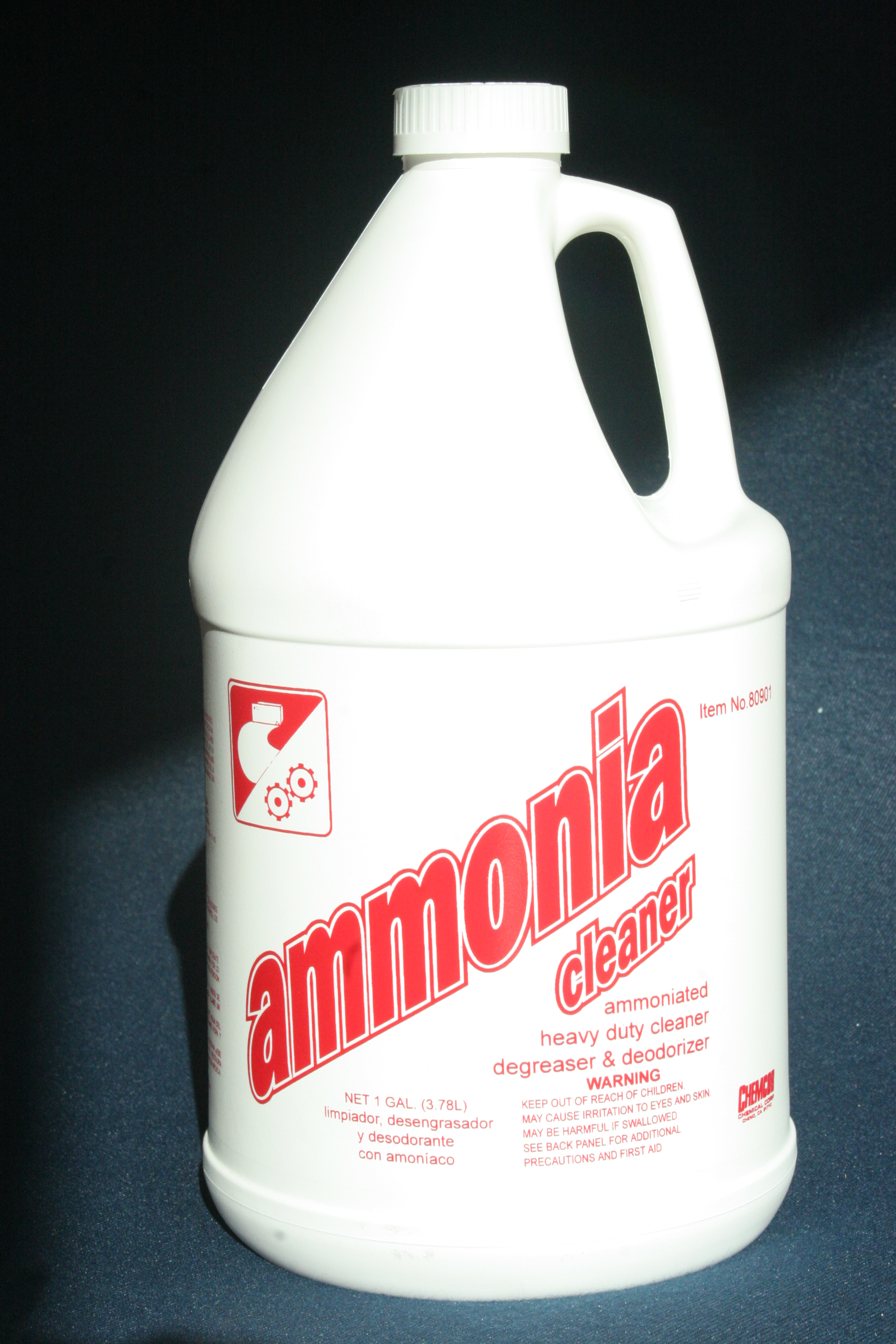 Chemcor Chemical Corporation Ammonia Cleaner