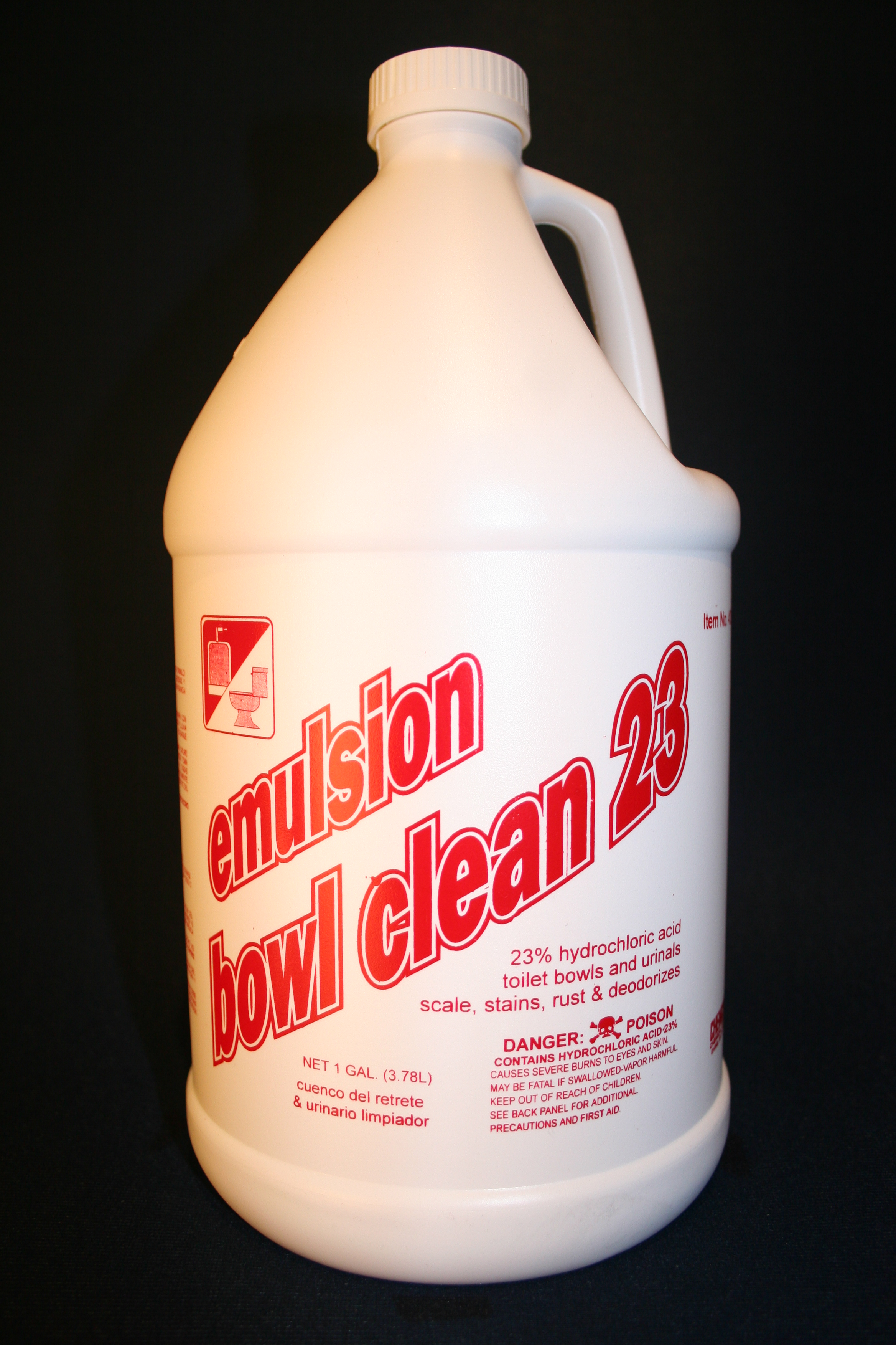Chemcor Chemical Corporation Emulsion Bowl Clean 23 Hcl